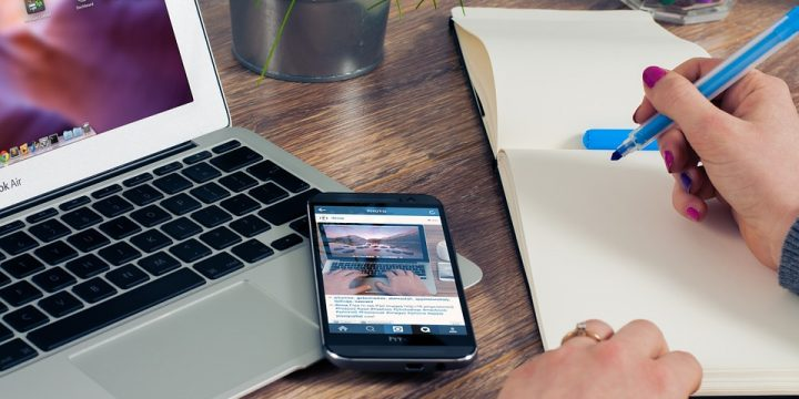 Pisanje bloga na različnih spletnih straneh
